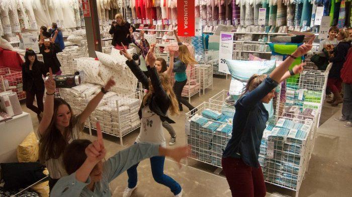 Flashmob Ikea